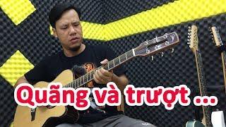 Kết hợp quãng và slide tạo giao điệu | học đàn guitar miễn phí | học đàn guitar thùng