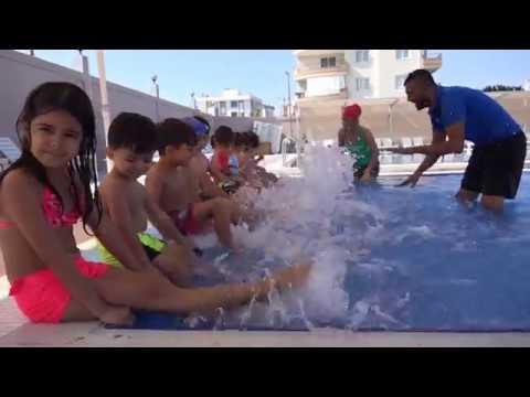 Erdemli'nin İlk Su Parkı ve Yüzme Havuzu Hizmette