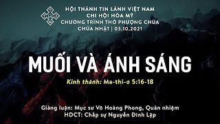 HTTL HÒA MỸ - Chương trình thờ phượng Chúa - 03/10/2021