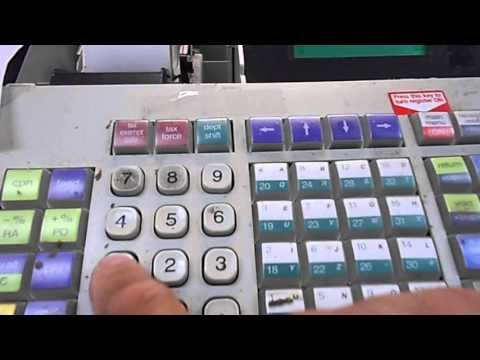 how to change  uptdate  sale tax rate Royal Alpha 710ML  cash register