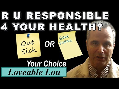 Are You Responsible For Your Own Health?