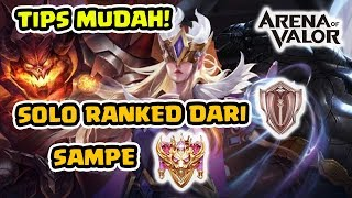 Download Video Cara Solo Ranked Paling Efisien! Fast Win Fast Game! - Arena of Valor MP3 3GP MP4