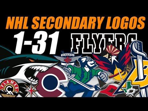 NHL Secondary Logos Ranked 1-31