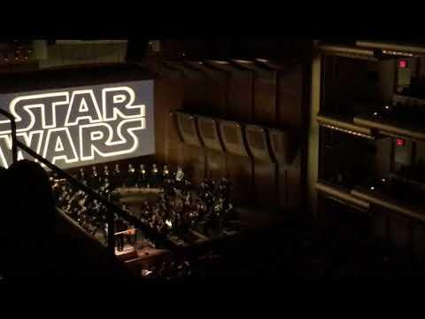 Star Wars Live Opening Crawl, NY Philharmonic