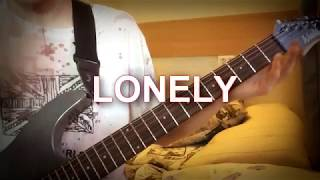 """Как играть Andreas Ronnberg - LONELY на гитаре ! (OST Cry of Fear)  How to play """"Lonely""""!  Mc.Dicon"""