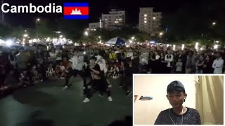 (Cambodia Reaction)K-pop cover dance Cambodia,Thailand,Vietnam,Laos