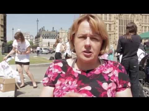 Westminster rally, July 2014: Baroness (Tanni) Grey-Thompson