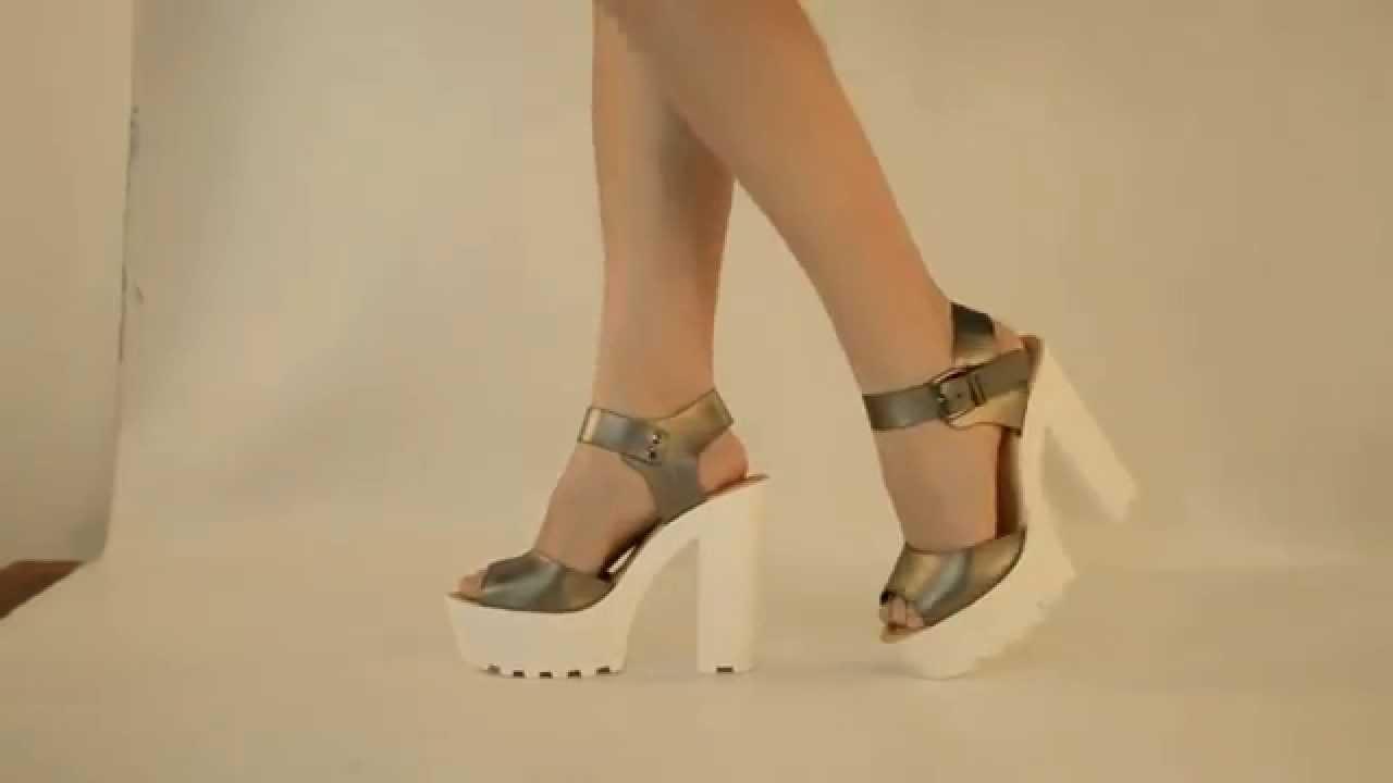 Suela Color Sandalia Plateado Sandalia Blanca wPZOkTiXu