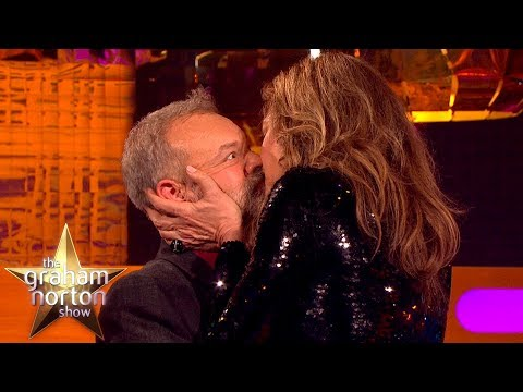 Allison Janney Demonstrates Meryl Streep's Secret Kissing Technique | The Graham Norton Show