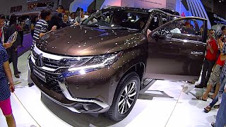 2016, 2017 Mitsubishi Pajero Sport new Mitsubishi SUV, TOP model