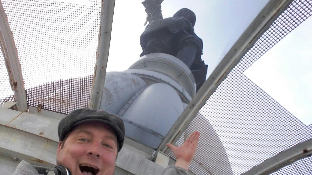The top of Philadelphia City Hall