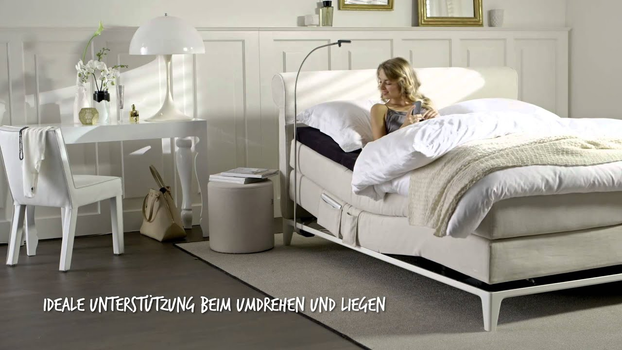 auping boxspringbett criade youtube. Black Bedroom Furniture Sets. Home Design Ideas