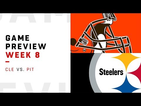 Cleveland Browns vs. Pittsburgh Steelers | Week 8 Game Preview | NFL Playbook