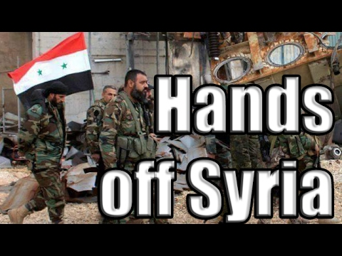 - HANDS OFF SYRIA!  - Marcel Cartier & Agent of Change