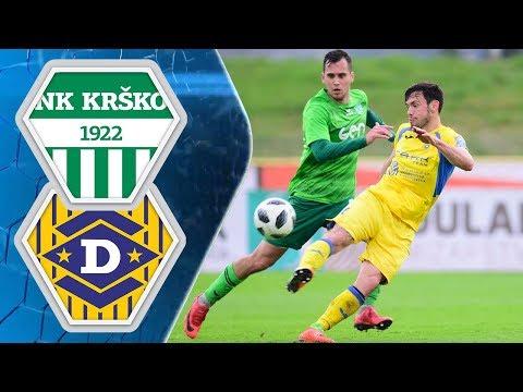 25. krog: Krško - Domžale 1:2 ; Prva liga Telekom Slovenije 2017/2018