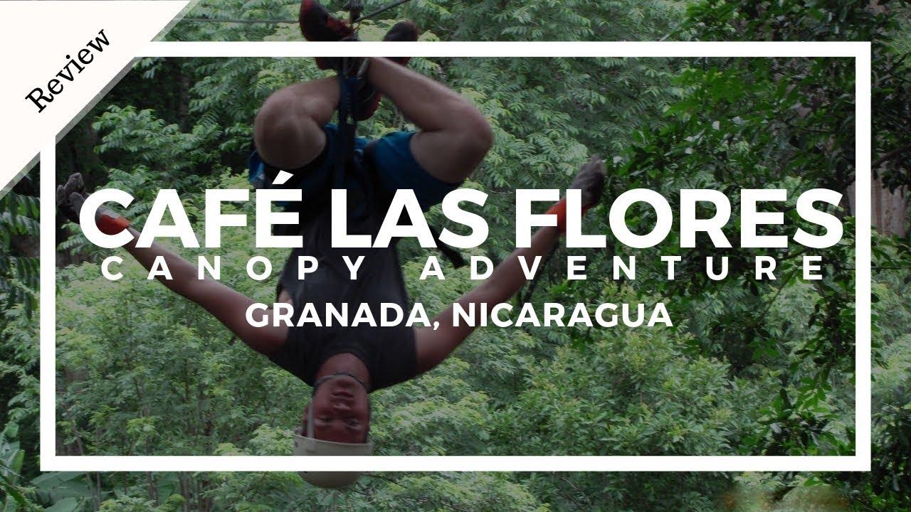 Cafe Las Flores Canopy Adventure Zip Line Review Youtube