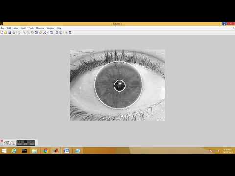 Iris Recognition MATLAB Implementation | Ajay Jatav | bio-metric identification
