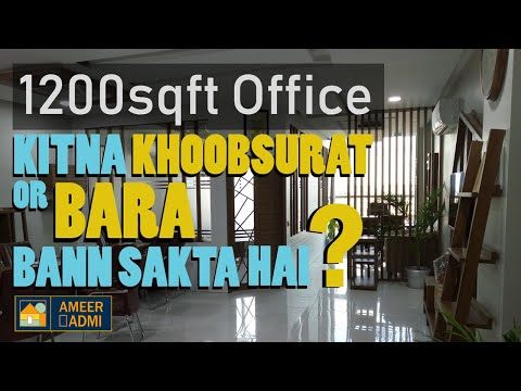 1200sqft Office | Main Jinnah Avenue | Installment & Lump sum | Bahria Town Karachi | Ameer Admi