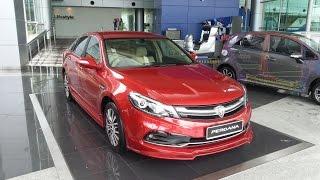 The New 2016 Proton Perdana 2.4L  Malaysia Launched Interior Exterior HD
