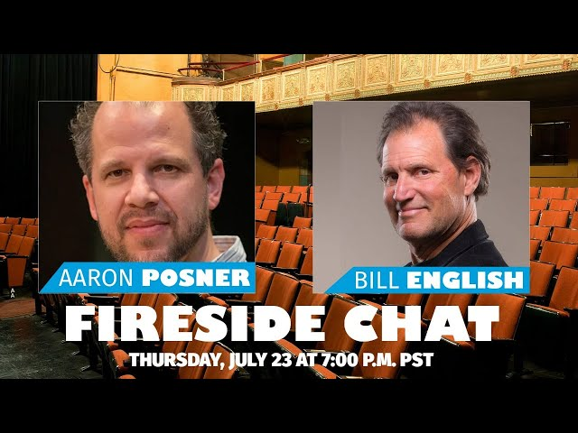 Empathy Gym Fireside Chats | Aaron Posner