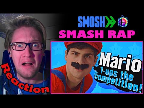 SMASH RAP by Smosh REACTION! | PSYCHO VILLAGER! |