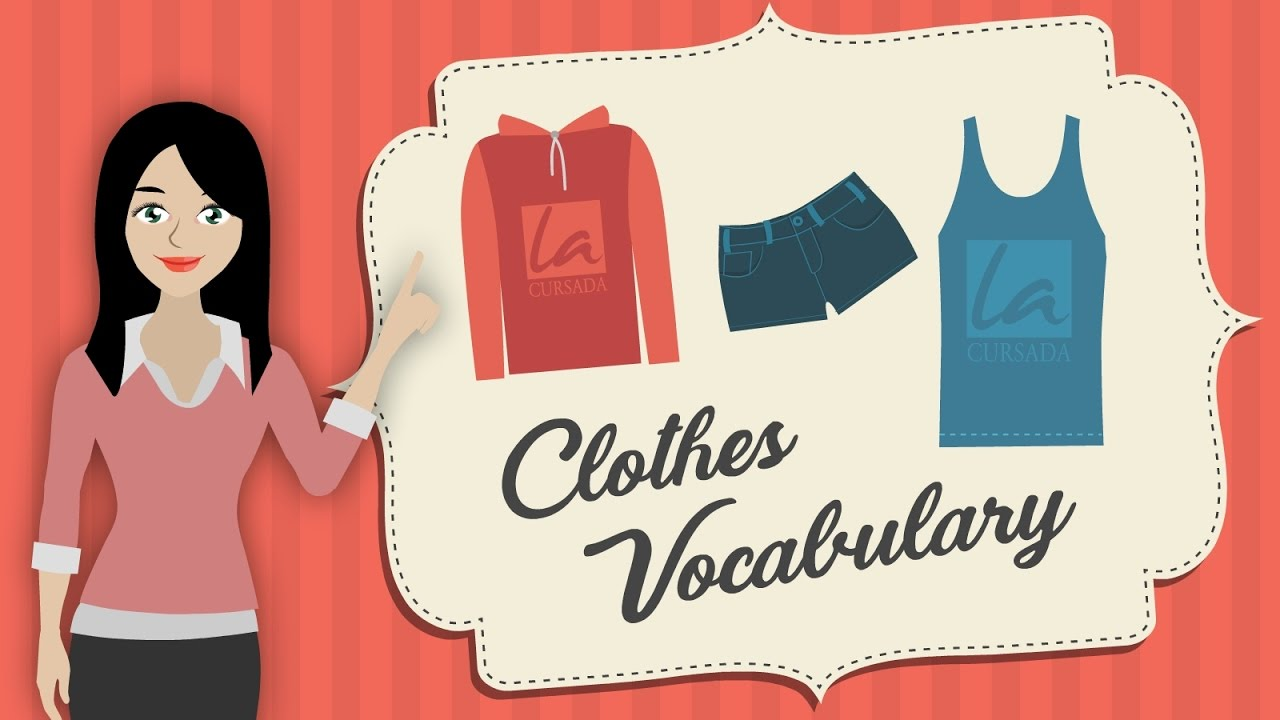 Clothes vocabulary youtube