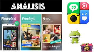 Análisis de la app Photo Grid (Android e iOS)