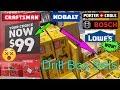 Craftsman Dewalt kobalt box sets| Shopping at Lowes