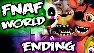 FNAF WORLD HALLOWEEN EDITION ENDING!   Purple Man Finale!   FNAF World Halloween Edition Gameplay
