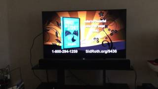 SONY XBR-43X800D 4K+HDR TV short demo