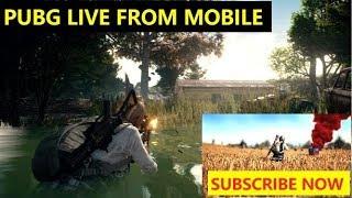 PUBG MOBILE Live Stream fun