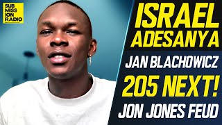"Israel Adesanya Confirms Jan Blachowicz as Next Fight: ""It's Official... I'm Moving Up to 205"""