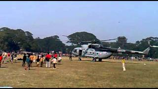 helicoptor in our berhampore square field.mp4