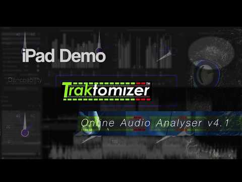 Traktomizer Online Audio Analyser 4.1 iPad DEMO
