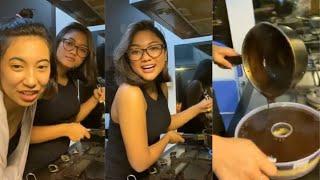 LALA MARION JOLA LIVE IG SAMBIL BUAT PUDING