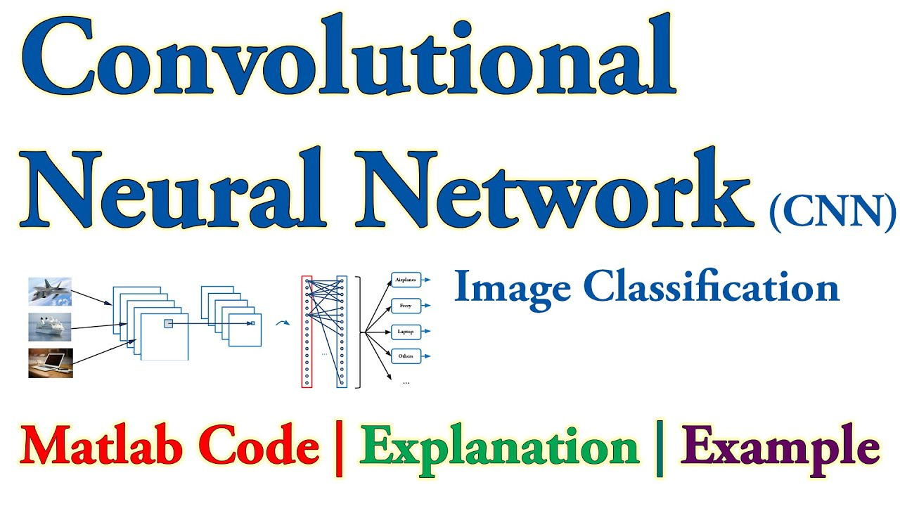 Convolutional Neural Network (CNN) Image Classification in Matlab