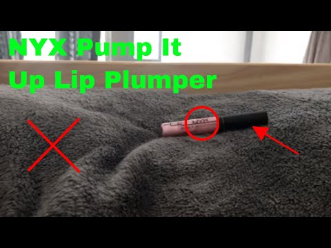 ✅  How To Use NYX Pump It Up Lip Plumper Review thumbnail