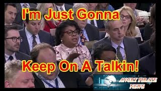 April Ryan Of CNN Being Rude To Sarah Sanders Who Shuts Her Down!
