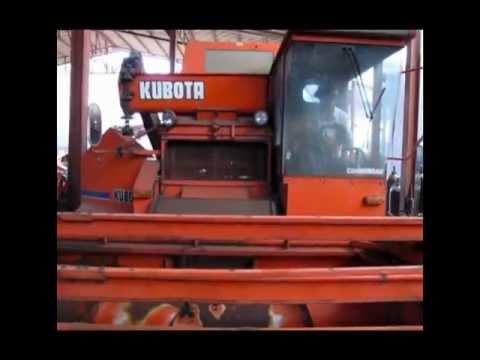 รถเกี่ยวข้าว คูโบต้า Kubota AX60 2nd hand from Japan.