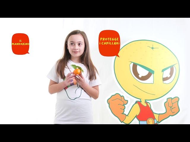 I cinque colori del Gusto e del Benessere - colore arancio arancio - video promozionale