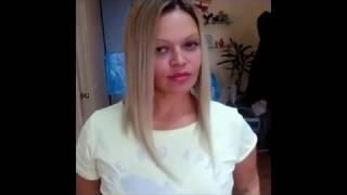 Наращивание челки - видео как можно нарастить челку и на короткие волосы. Киев. Удлиненное каре.