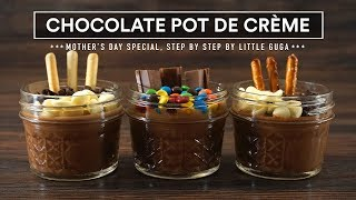 Chocolate POT DE CRÈME Sous Vide - Mother's Day Special!