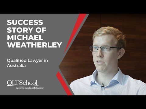 Success Story of Michael Weatherley - QLTS School's Former Candidate