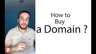 How to choose a domain ? بالعربي