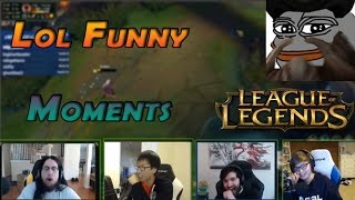 LoL Funny Moments #4 ft Sneaky - Tobias Fate - imaqtpie - Scarra - Sneaky - Voyboy - Doublelift