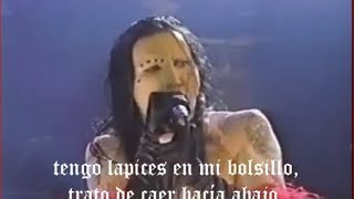 Marilyn Manson Lunchbox Subtitulos Español live 1995