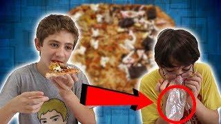 אתגר הפיצה עם דומינוס!