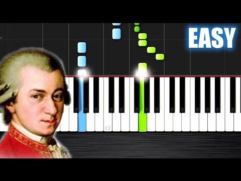 Mozart - Eine kleine Nachtmusik - EASY Piano Tutorial by PlutaX - Synthesia