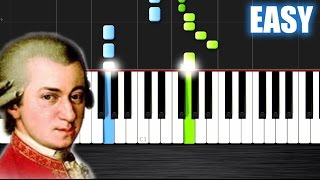 Mozart - Eine kleine Nachtmusik - EASY Piano Tutorial by PlutaX - Synthesia - Stafaband