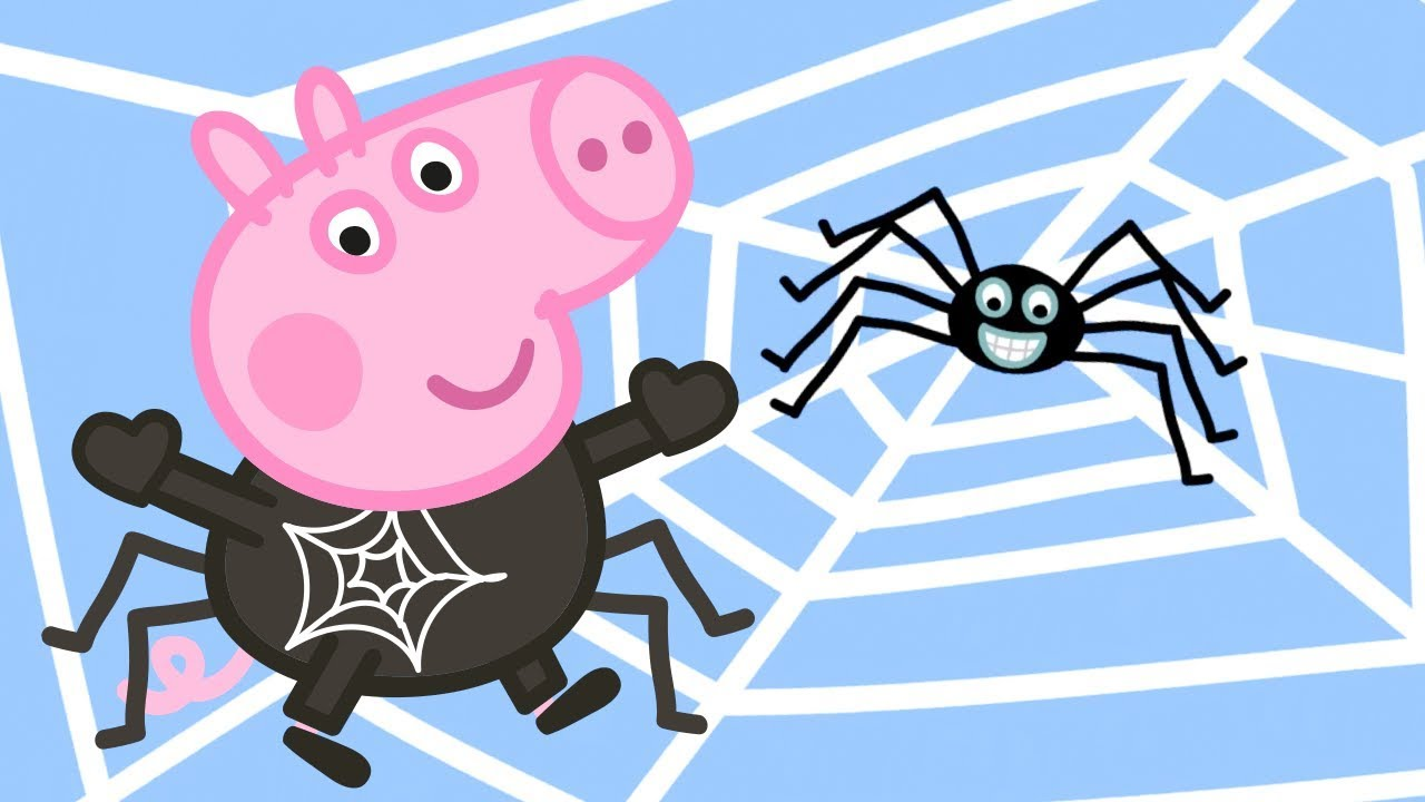 Peppa Pig Official Channel  ???? Spider! Where is Mr Skinny Legs?  ???? Halloween Special ????